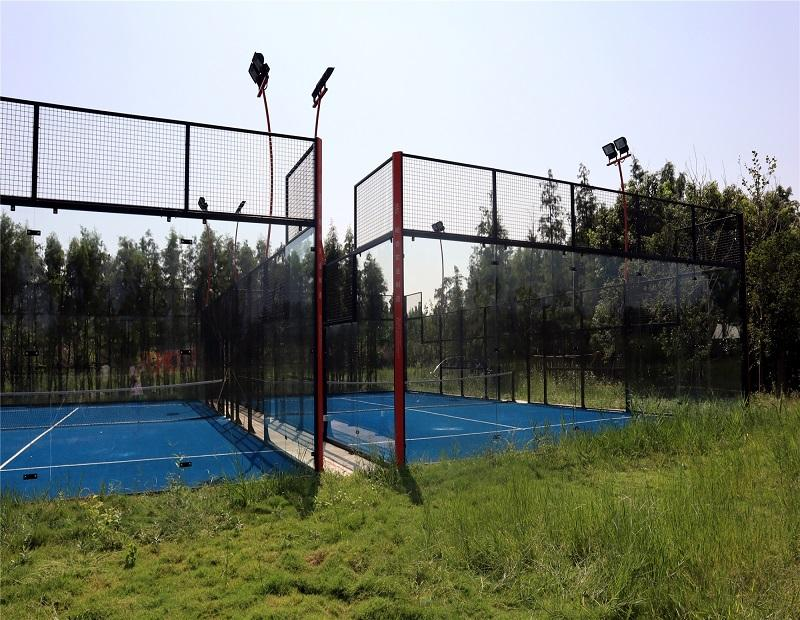2020 New Design Panoramic Padel Tennis Court