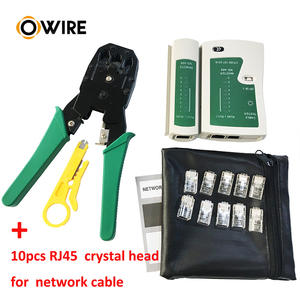 Owire cable manufacturer green color Crimping tool for network cable