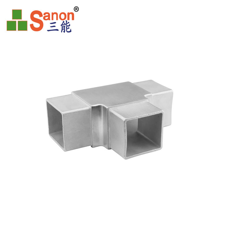 90 Degree Steel Pipe Fitting Square Elbow Stainless Flush Angle Joiner