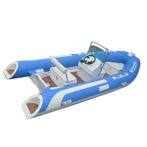 Año 2019 14FT deportes de agua China 420 costilla Hypalon barco inflable