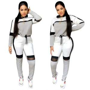 2020 Pullover Joggers Women Track Suit Two Piece Hoodie Set Fall Clothing For Women