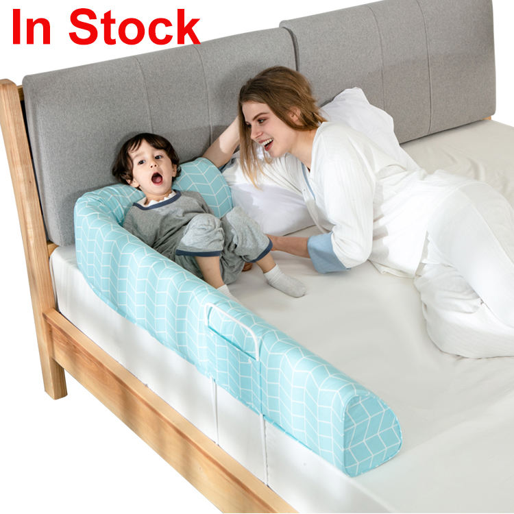 Portable Child Toddlers Home Side Crib Safety Baby Bed Rail Guard Baby Bed Bumper for Kids
