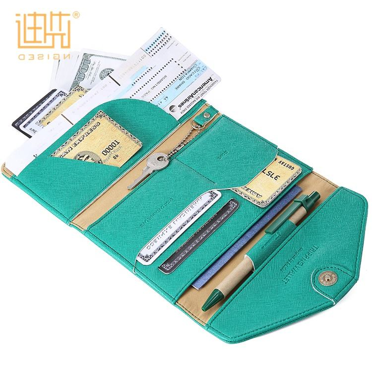 Unisex usiness business Credit Card Holder Case Pouch travel passport holder gift set