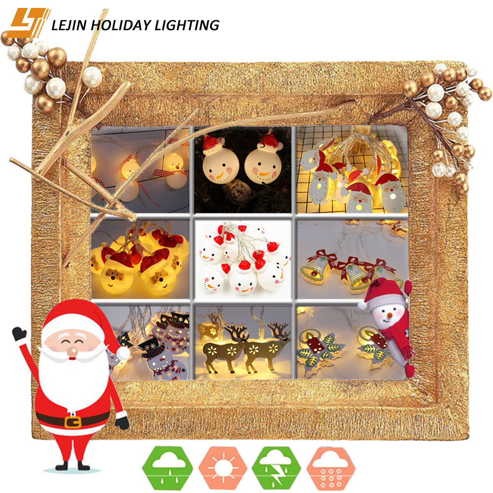 Bell/Snow man/christmas tree decoration outdoor christmas led light