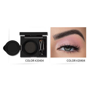 Accept Customized Logo 2 In 1 Cream Cushion Eyebrow Powder Kits