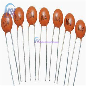20p x Safety Capacitors 275V 104 0.1uF 100nF Radial Capacitors 15mm Pitch