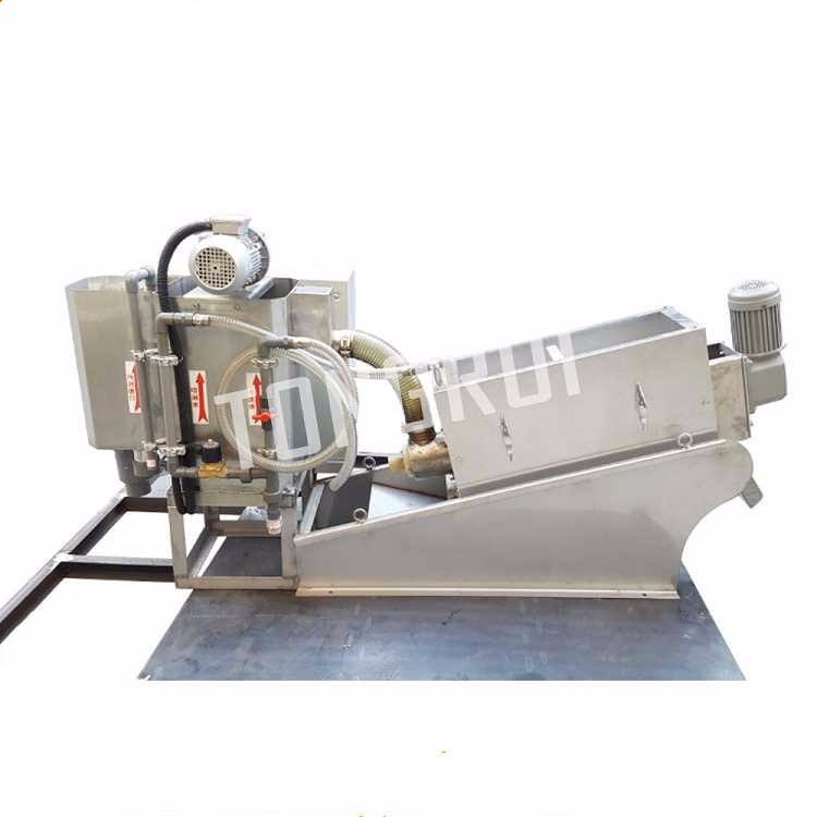 easy wash Liquid Solid Separator dewatering machine for sludge treatment