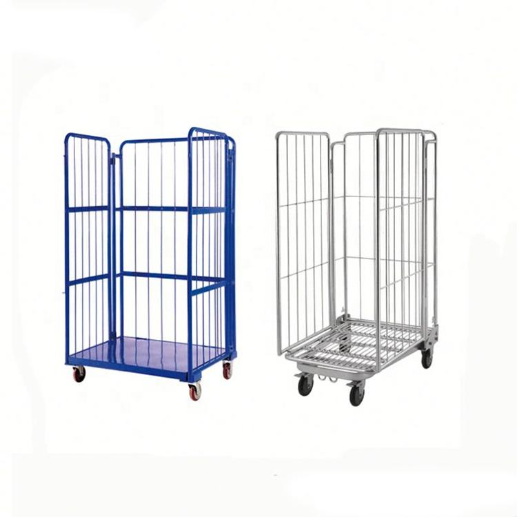 New Design Euro Mesh Roll Container With Low Price