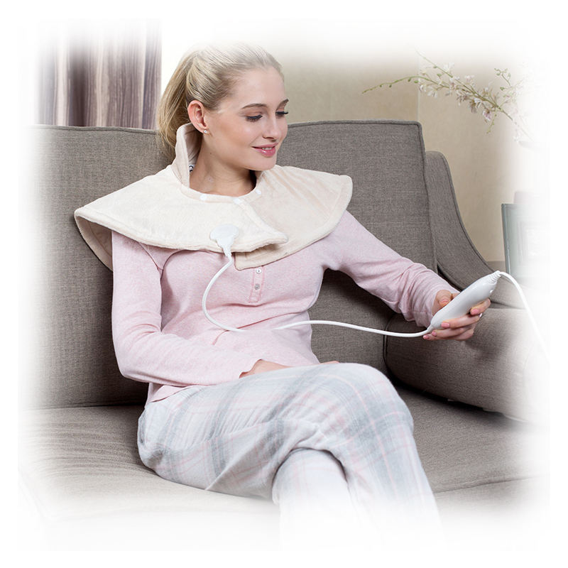 Hot Cold Packs [ Wrap Neck ] CE GS Approval 220V Special Heat Wrap Electric Neck And Shoulder Warmer For Pain