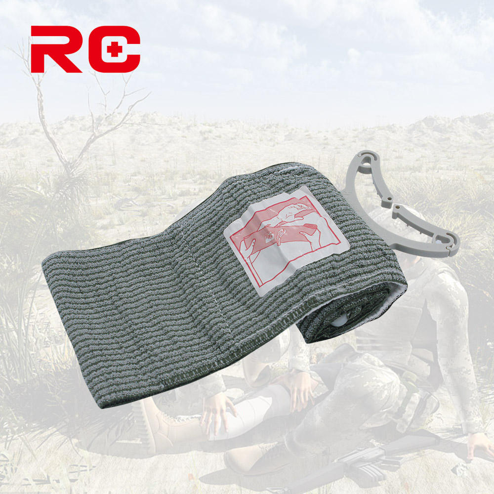 Low Price Trauma Emergency Military Israeli Bandage With Stop Bleeding Pad