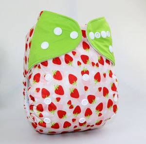 New Original Factory directly in selling baby printed cloth diaper, Printed cloth nappy