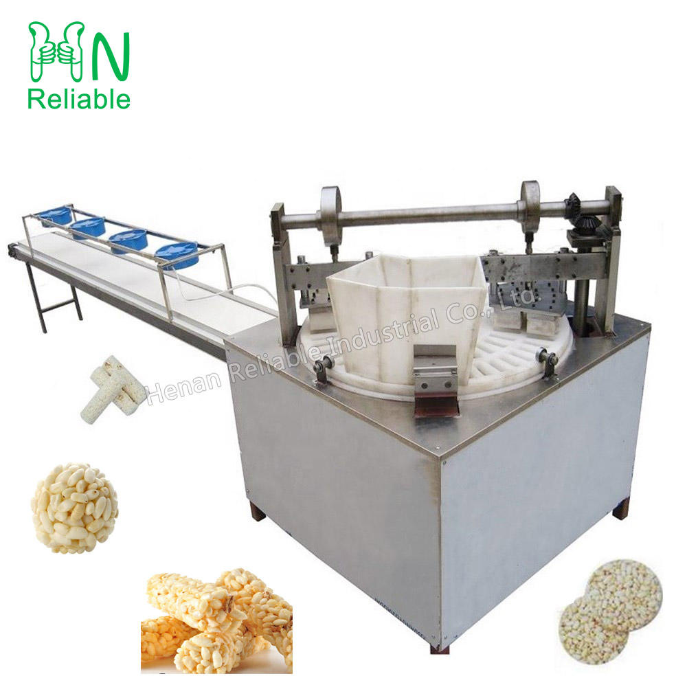 Electric snack food ball moulding machine rice block moulding machine