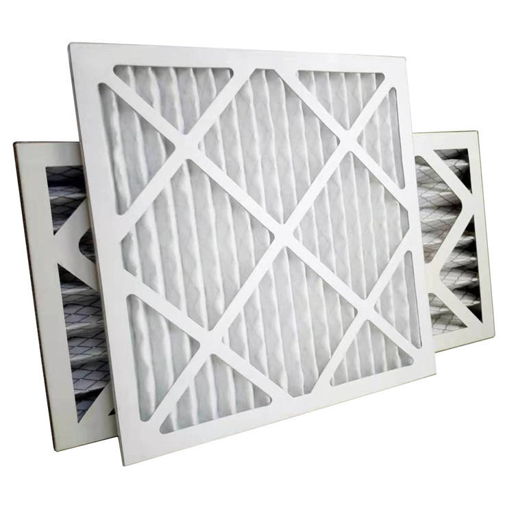 High Quality G4/merv8 Air Pleat Panel Filter 16*25*2inch From China Supplier
