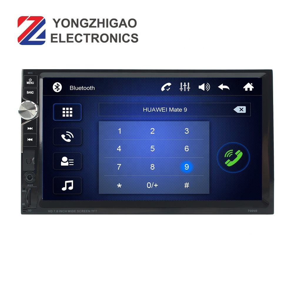 1080P Layar Sentuh <span class=keywords><strong>Radio</strong></span> 1Din Dvd 7 Inci Touch Screen Stereo Mobil Mp5 Player 1 Din