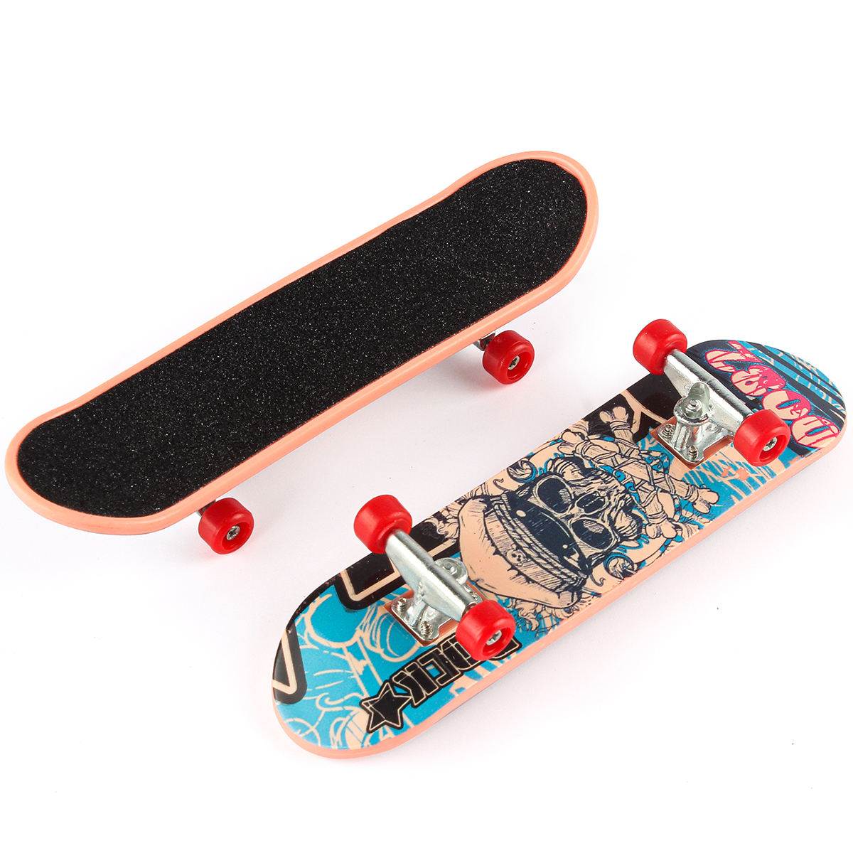 Hip-Hop Custom Multicolor Mini Sports Scooter Toys Finger Skateboard