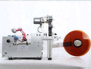 Mt 50 Model Ronde Fles Beed Fles Plastic Fles Sticker Labeling Machine