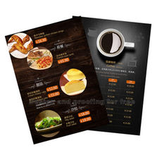 Cheap Custom A2 A3 A4 A5 Commercial Poster Leaflet Flyer Menu Printing