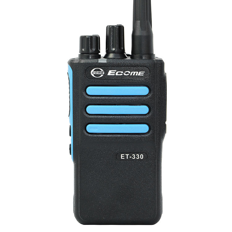 Ecome ET-330 Intercom UHF Digital DMR Dasar Dua Cara Radio Walkie Talkie