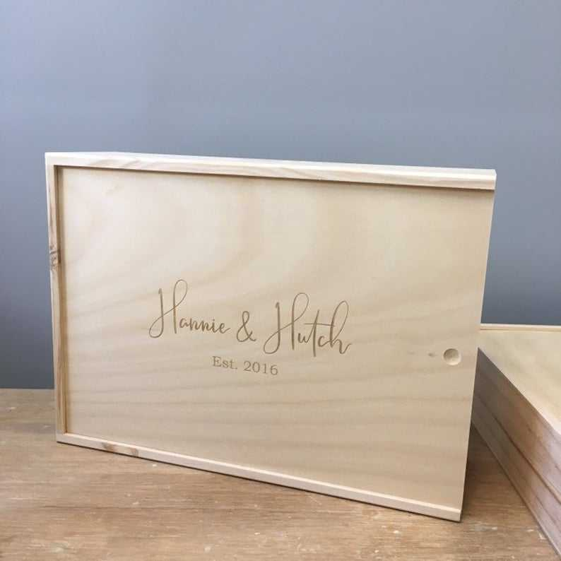 customize size wooden box