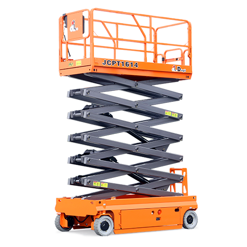 battery forklift scissor lift platform Hydraulic Working Platform Folding Scaffolding