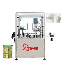 Automatic Round Tin Can Seaming Machine High Quality Vacuum Nitrogen Sealing Machine