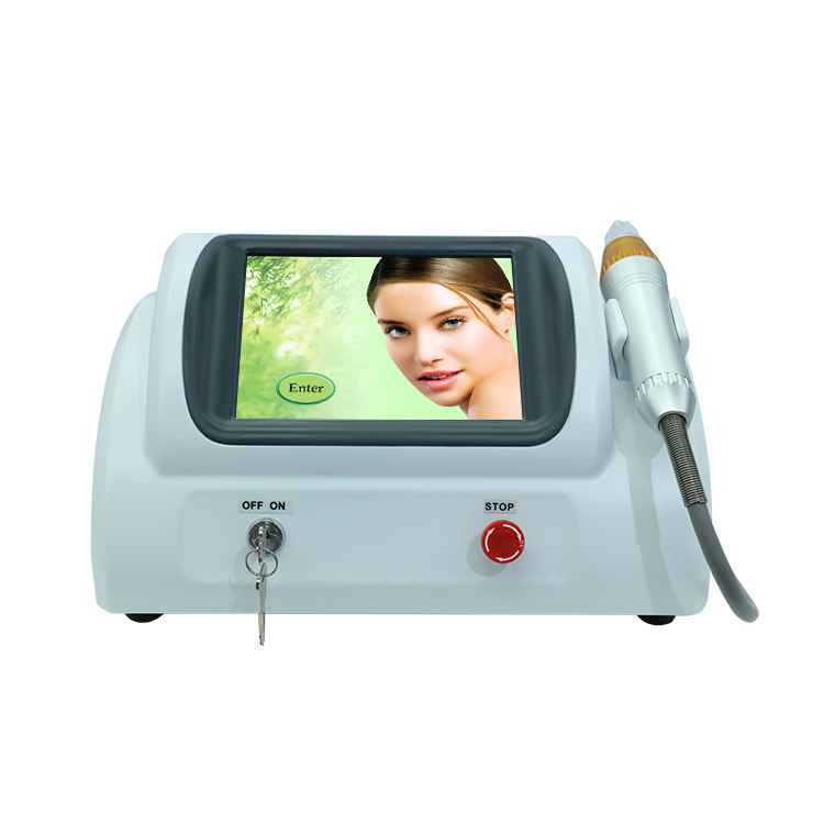 Advanced Microcurrent Rejuvenate Skin Tightening Superficial Facial Fractional Rf Microneedling Machine