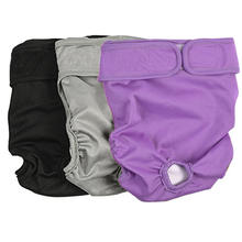 Wholesale Female Pet Washable Dog Diapers  Physiological Sanitary Dog Pants