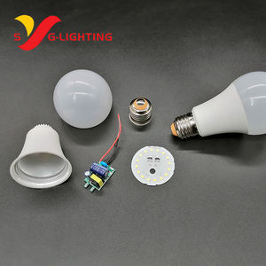 Senyouguang hot sale home decoration plastic B27 5w 7w 9w 12w 15w 18w led bulb lamp