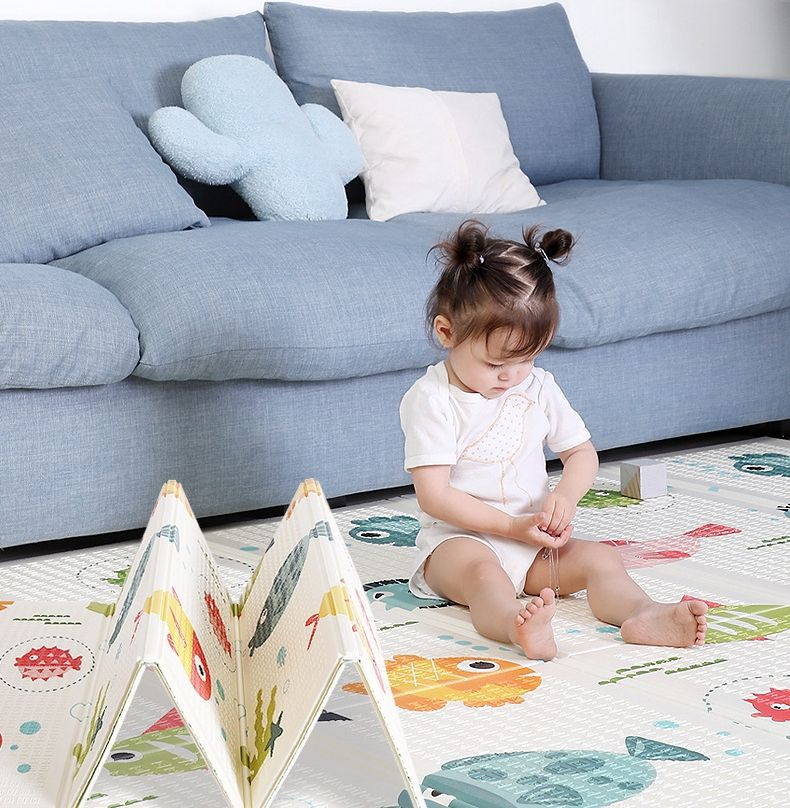 2020 Good Quality XPE Material soft floor foam soft children foldable kids Baby Play Mat for baby