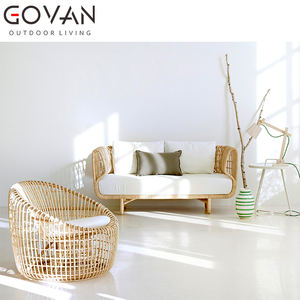 Morden and timeless design hotel villa high quality outdoor furniture garden leisure rattan woven round chair