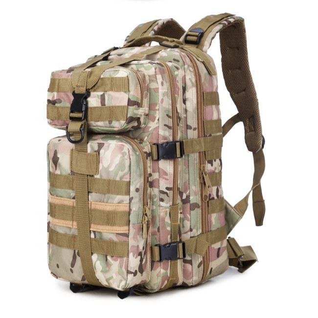 Medium Army Assault Backpack Shoulder Military Tactical Waterproof Trekking Backpack