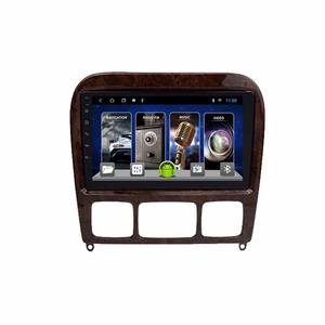 Android Für Mercedes-Benz S Klasse W220 HOLZ Multimedia Stereo Auto DVD Player Navigation GPS Video Radio IPS Plays bluetooth