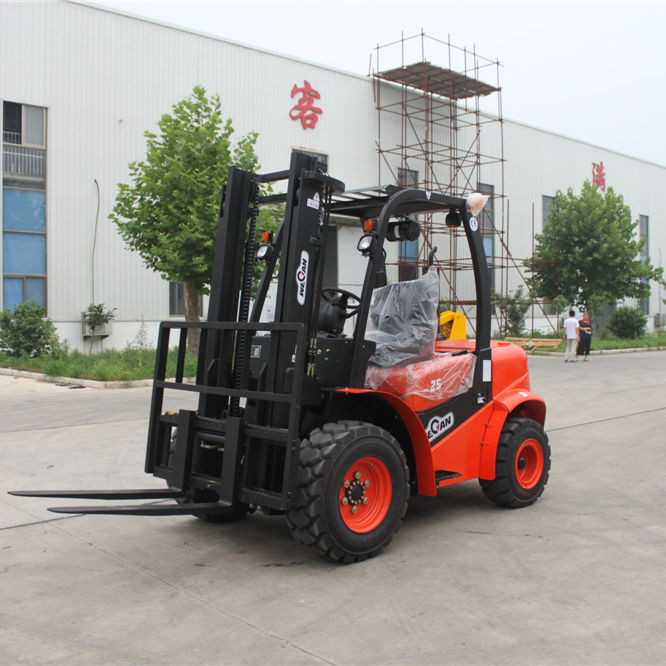 Quality 2.0T Rough Terrain Forklift Truck CPQYD20G for sale