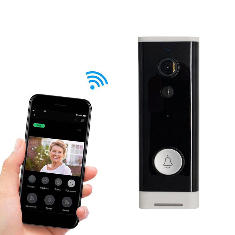 Visual Interfone Wireless Door Bell Camera Night Vision Waterproof Video Deurbel Campainha Sem Fio Wifi Intelligent Doorbell