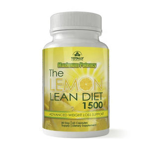 The Lemon lean diet 1500 mg apple cider vinegar capsules for advanced weight loss