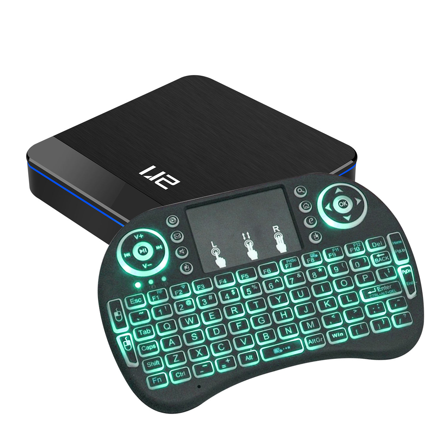 U2 S905x3 Dual Wifi Gigabit <span class=keywords><strong>Ethernet</strong></span> Usb3.0 Cccam Cline Smart <span class=keywords><strong>Android</strong></span> 9.0 Tv Pvr Kotak dengan Keyboard