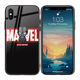 For iPhone 11 Pro Max Custom LOGO Print Tempered Glass Case Cover Mobile Phone Case Cover For iPhone 7 XR XS SE2020 Coque