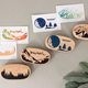 Wooden Stamp Set Stamps Stamps Woode Wooden Stamp Set Popular Eco-Friendly High Quality Custom DIY Scrapbooking Rubber Stamp With LOGO Customized Stamps Children