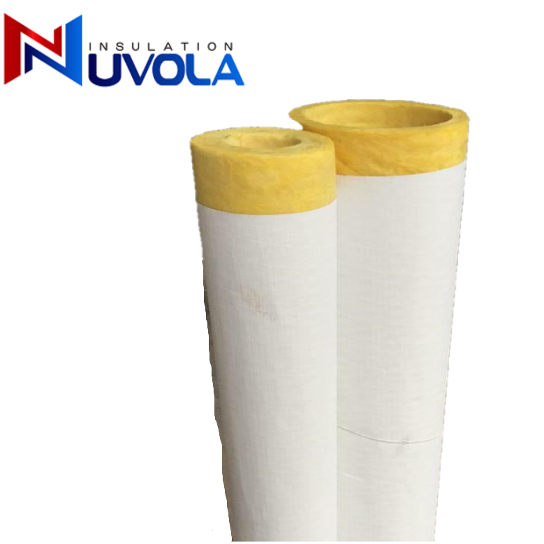 Glasswool Duct Excellent Thermal Insulation Glass Wool Pipe