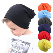 New Baby Street Dance Hip Hop Hat Spring Autumn winter Baby Hat  for Boys Girls Knitted Cap Winter Warm Solid Color Children Hat