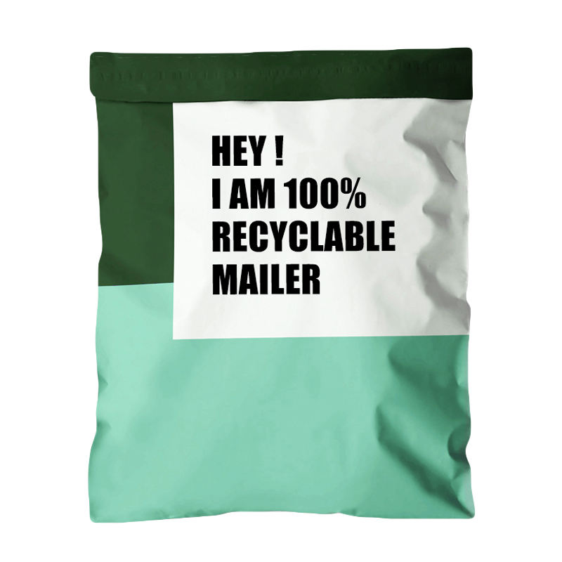 Package 0.06-0.095 Thickness Envelopes Shipping Customized Design Postal Printed Bags High Quality Matt Pink Poly Mailer Bag