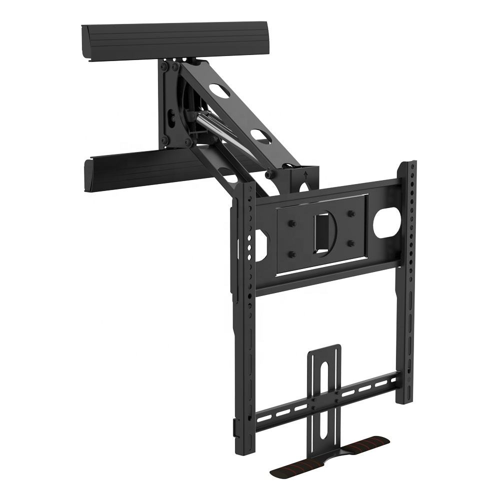 Fireplace Tv Mount 32''-50'' TV Best Selling Pull Down Adjustable Mantel Fireplace TV Lift Mount Wall Stand