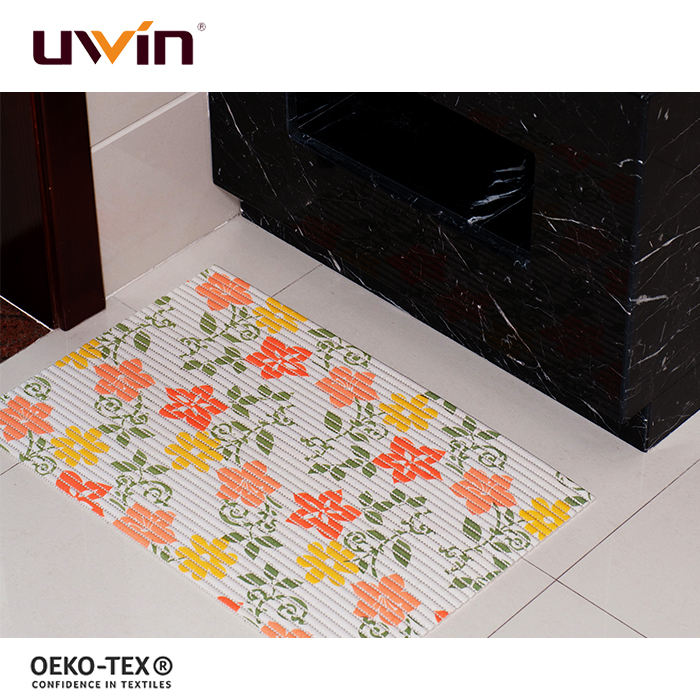 Custom design Printed PVC plastic wholesale plain coir door mat roll