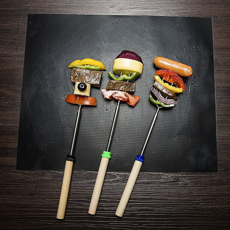 Koper Black private label ptfe barbecue non stick ptfe bbq grill mat