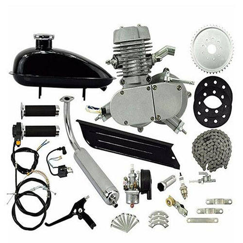 80cc Engine Kits Moped Gasoline Engine Kits for Gas Motorized Bicycle 2 Stroke