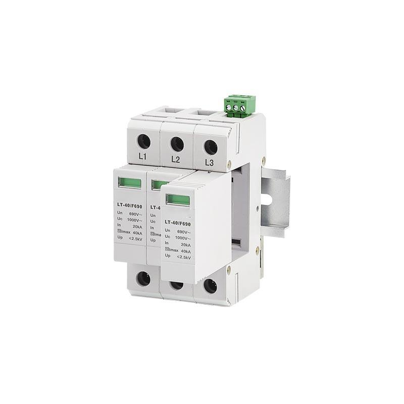 High Quality SPD Surge 2P,4P,2+PE,4+PE Lightning surge Low-voltage protection device