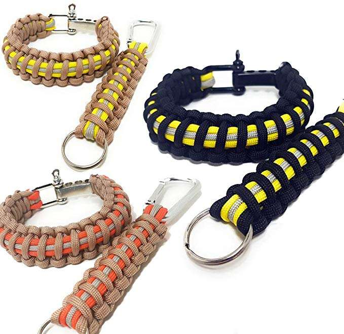 <span class=keywords><strong>Paracord</strong></span> Survival 팔찌 550 D 걸쇠 투표율 기어 컬러