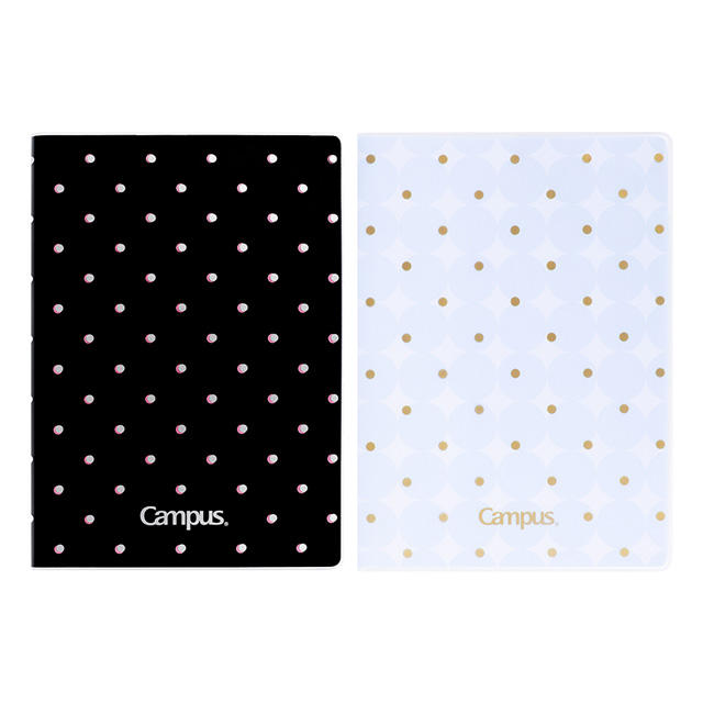 KOKUYO campus rubber covered notepads 100 sheets thick paper notebook school stationary diary reuseable pvc notebook cover