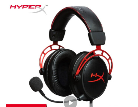 Kinston HyperX Cloud Alpha Two-tone gaming headset Office computer headset