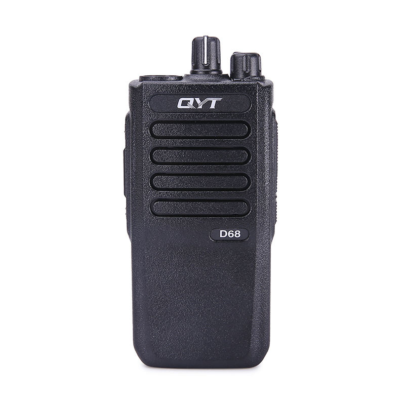 QYT D68 5Watt VHF <span class=keywords><strong>UHF</strong></span> DMR digitale dual band professional walkie talkies tragbare 2 weg radio